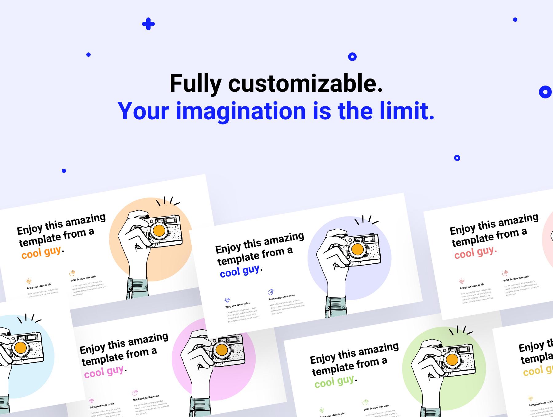 180+精美创意网站WEB UI设计套件 Bloc Web UI Kit插图(5)