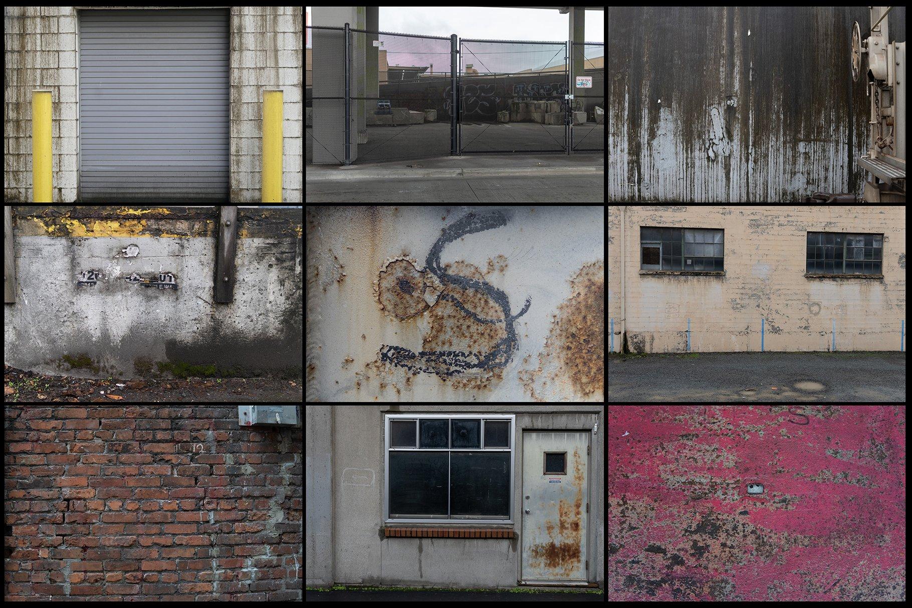 280多款高清锈迹划痕破裂污渍混凝土城市摄影图片背景素材 280 Urban Textures插图(3)