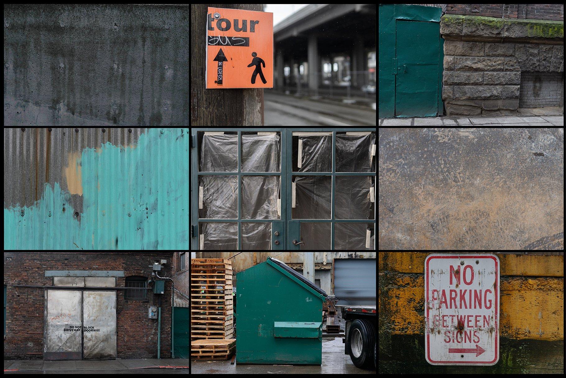 280多款高清锈迹划痕破裂污渍混凝土城市摄影图片背景素材 280 Urban Textures插图(4)