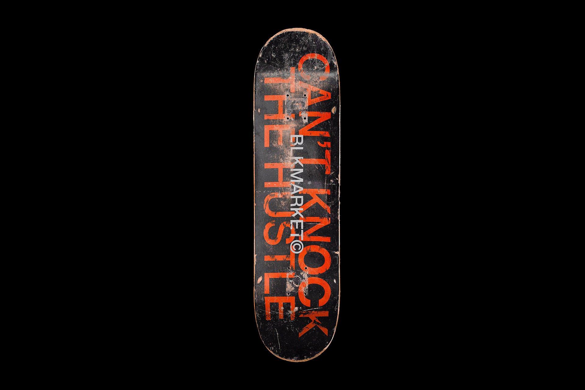 滑板产品外观设计展示样机PSD模板素材 4K Skateboard Mockup插图(1)