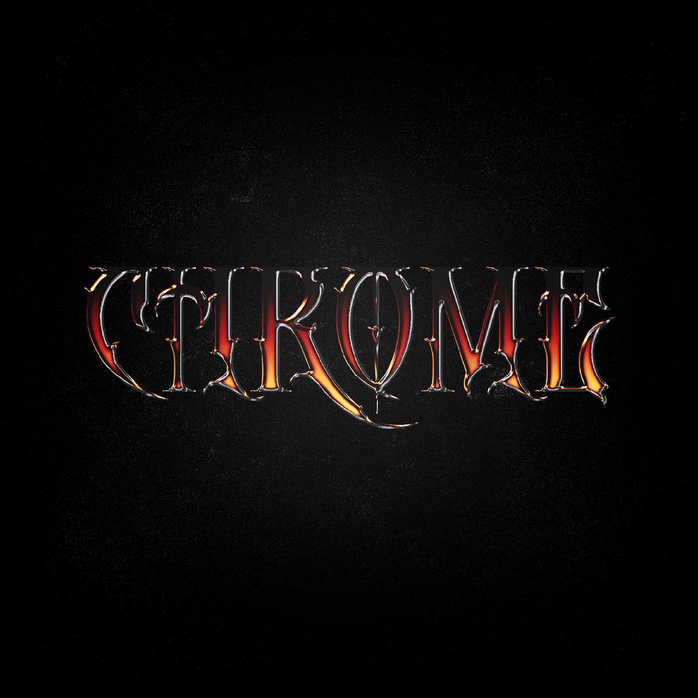[淘宝购买] 4款金属镀铬立体字平面广告海报标题徽标设计PS样式模板 4 Chrome Type Layer Styles插图(4)