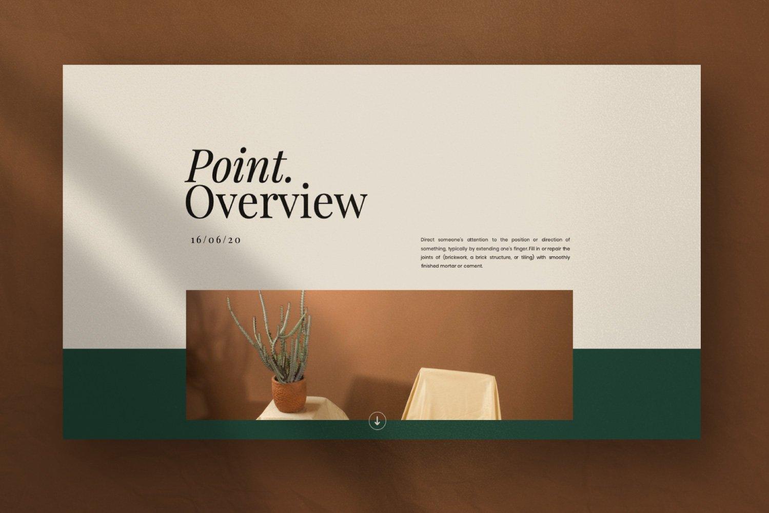 时尚创意服装摄影作品集幻灯片设计模板 Iconic – Fashion Lookbook PowerPoint插图(8)