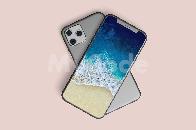 10款APP应用设计苹果iPhone 11 Pro手机屏幕展示样机 iPhone 11 Pro Mockup插图(2)