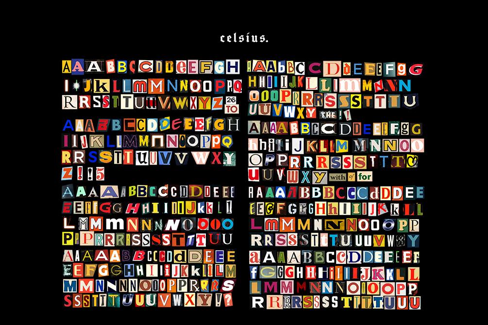 [淘宝购买] 1600多个多样式英文字母标志设计PSD背景素材 Letters插图(1)