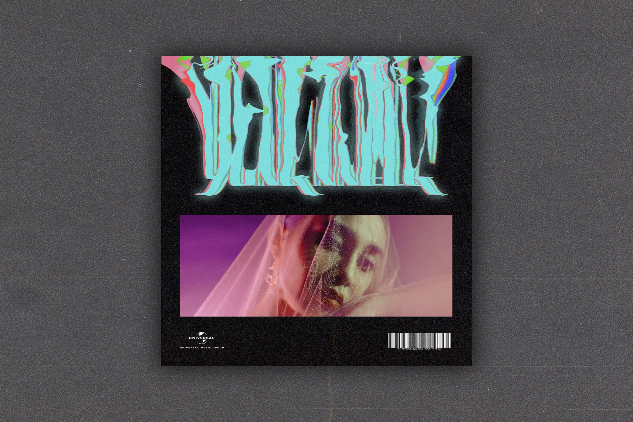 抽象故障流体扭曲毛刺效果海报标题字体设计PS样式模板 Glitchify插图(1)