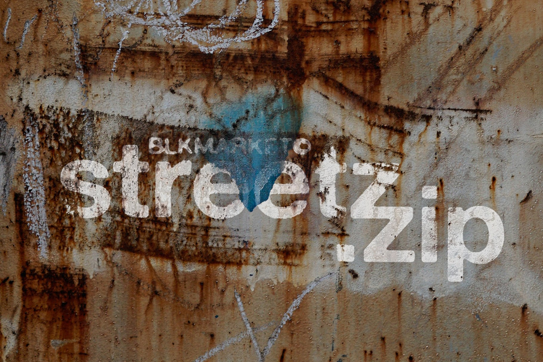 280多款高清锈迹划痕破裂污渍混凝土城市摄影图片背景素材 280 Urban Textures插图
