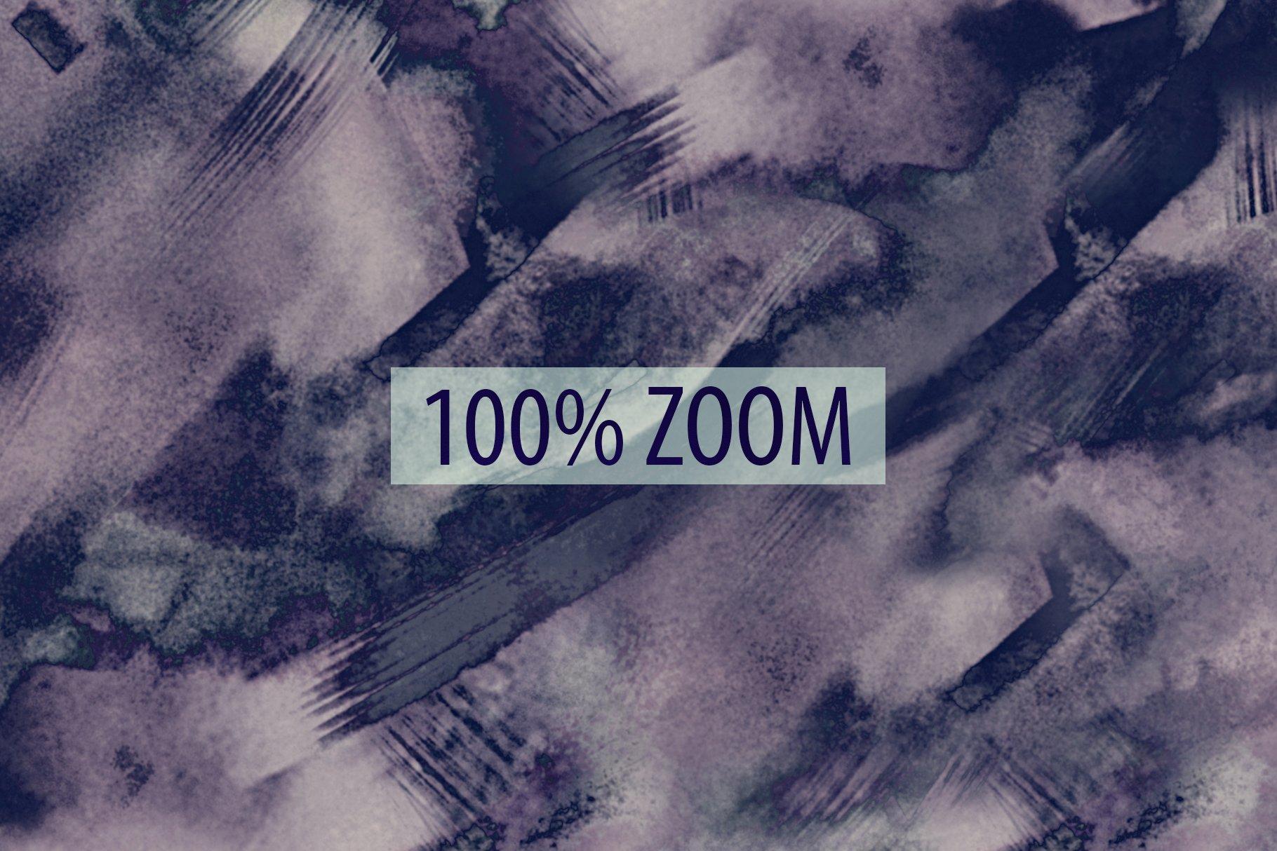 抽象紫色海军蓝绿色调丙烯酸油漆笔刷背景纹理图片素材 Brushstroke Textures Collection插图(11)