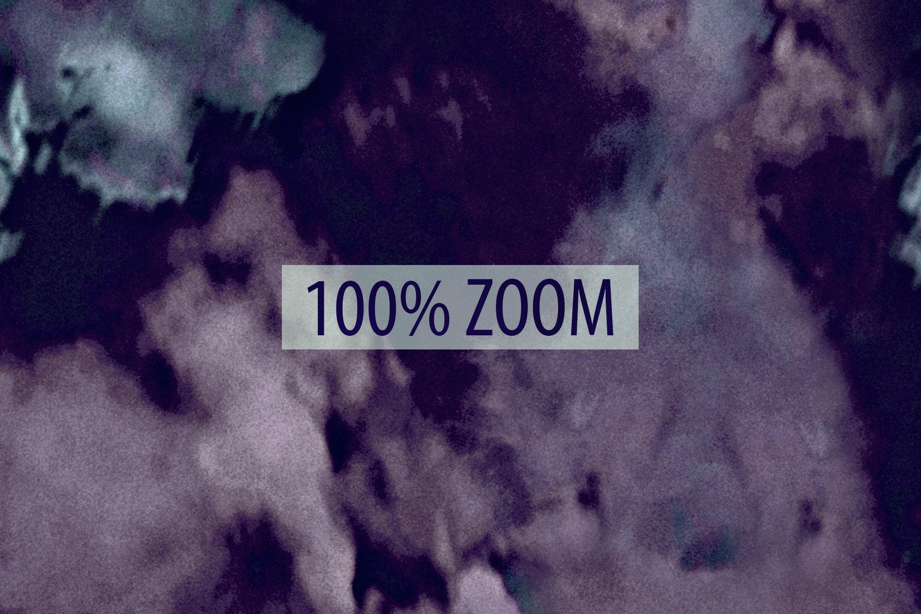 抽象紫色海军蓝绿色调丙烯酸油漆笔刷背景纹理图片素材 Brushstroke Textures Collection插图(13)
