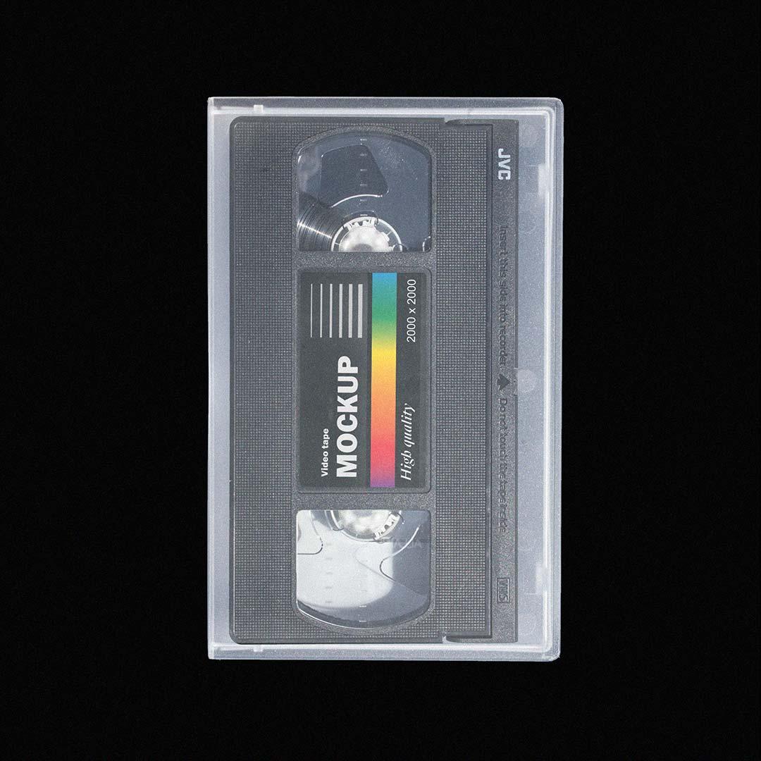 [淘宝购买] 多角度做旧复古磁带纸盒设计展示样机合集 VHS Tape Mockup Pack插图(4)