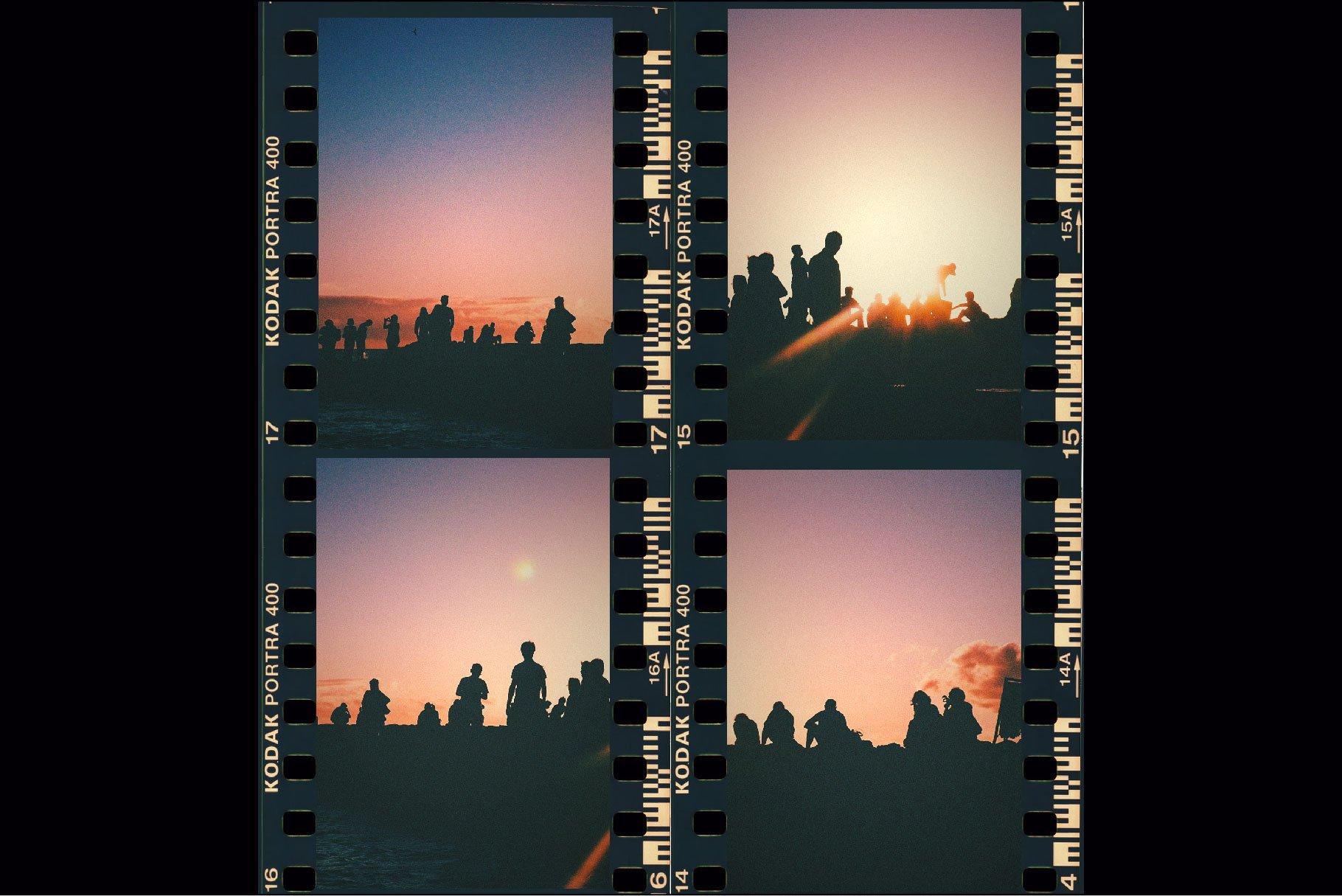 复古老式胶片胶卷边框图层叠加样机照片处理动作模板 Vintage Film Photo Mockup Bundle插图(7)