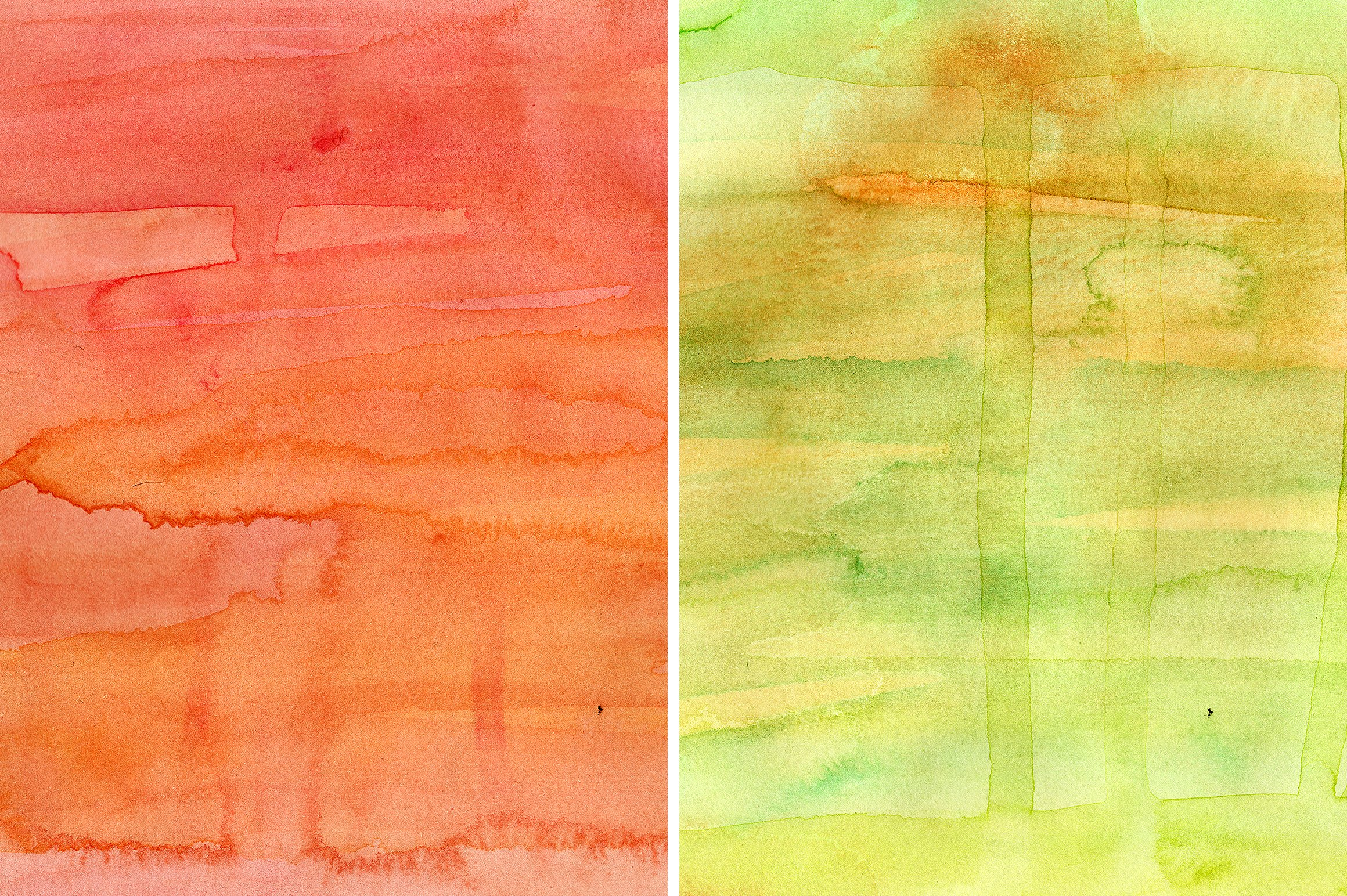 11款高清水彩颜料渗透流动痕迹背景图片素材 Watercolor Washes Textures Volume 01插图(4)