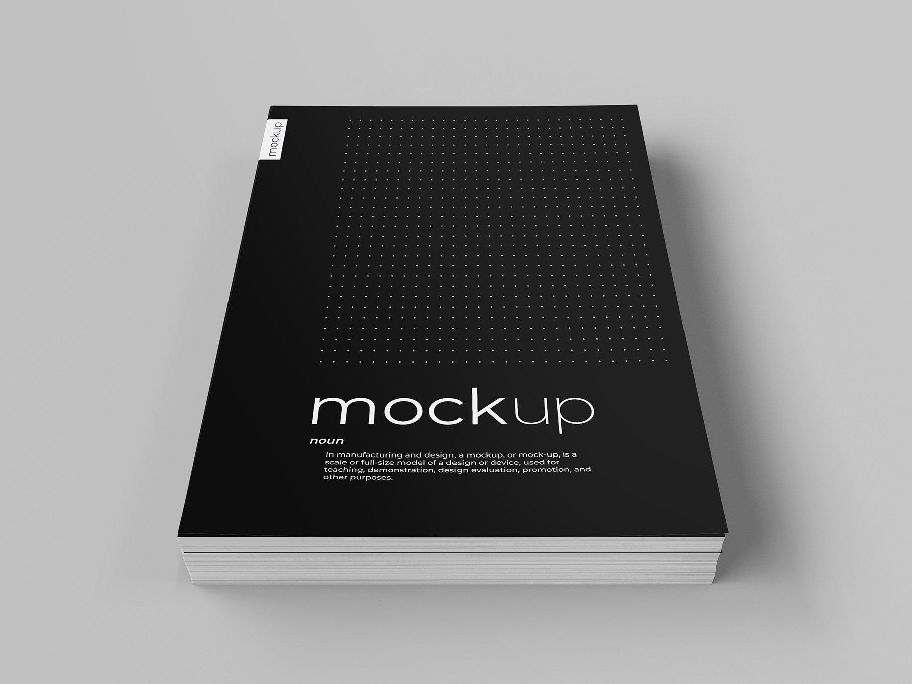 9款传单海报简历设计展示样机模板 Flyer Poster CV Mockup 2插图(1)