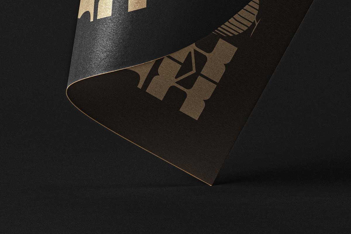 悬浮光泽海报宣传单页设计展示样机 Folded Psd Paper Mockup插图(4)