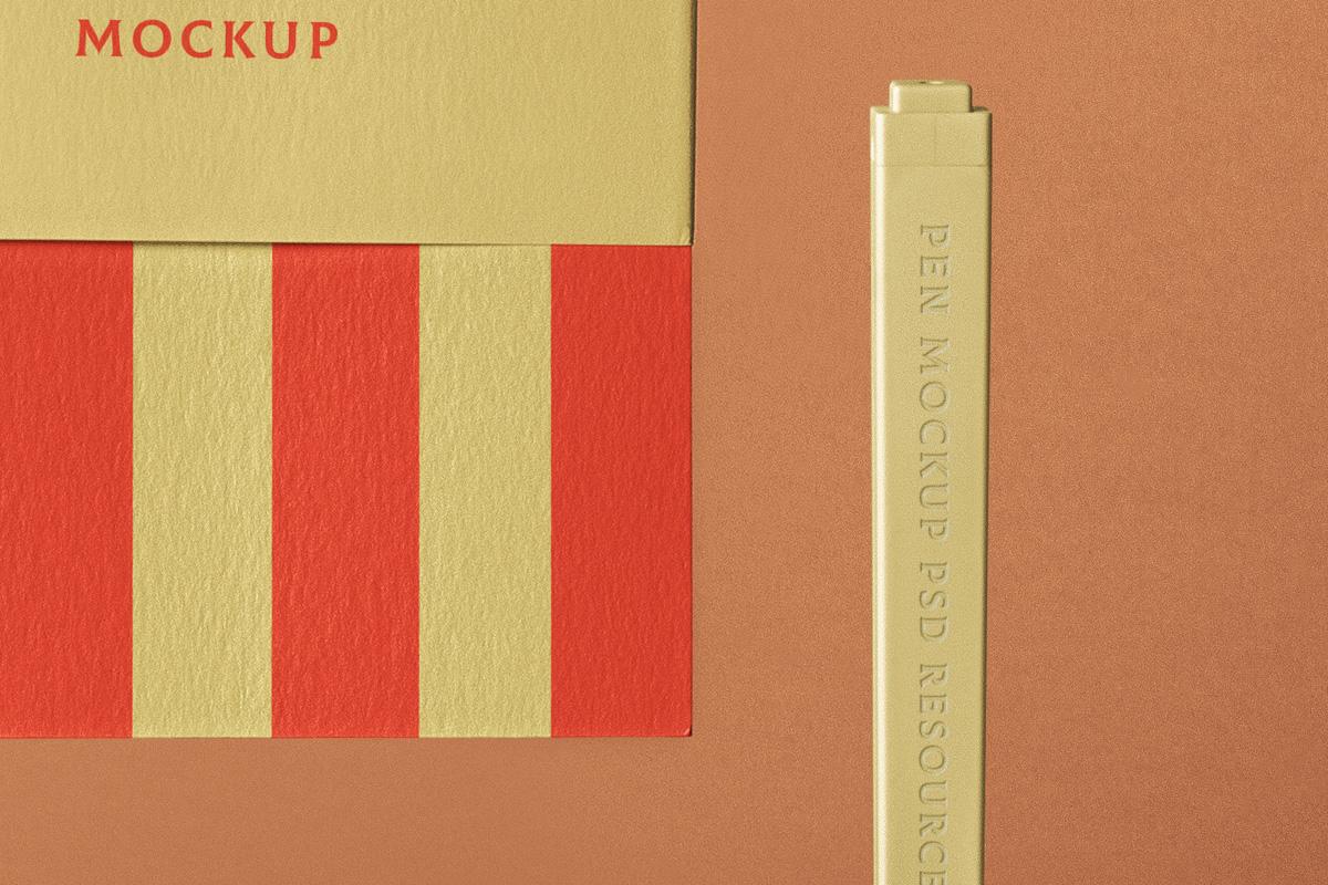 棉面笔记本设计展示样机PSD模板 Cotton Psd Notebook Mockup插图(4)