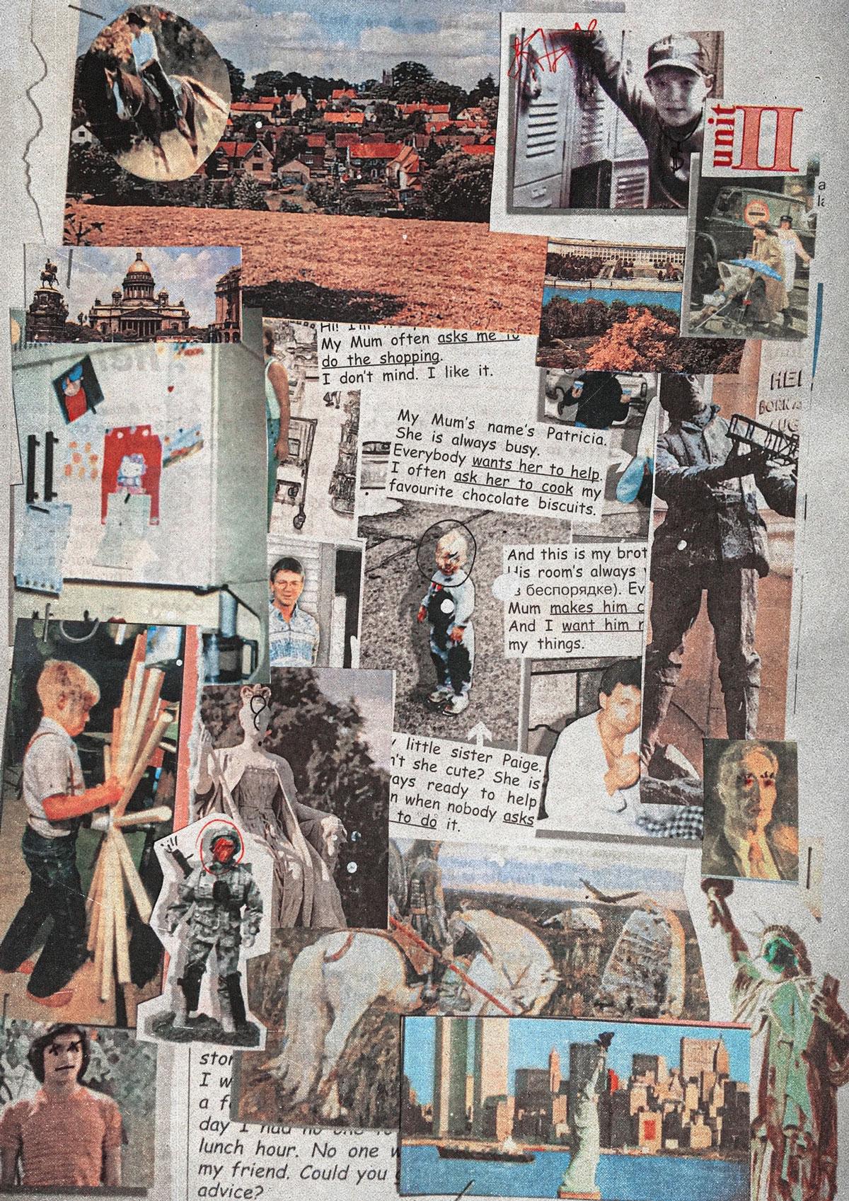 [淘宝购买] 25款复古美式彩色书籍剪切相片照片PNG图片素材 Me And My Neighbourhood插图(2)