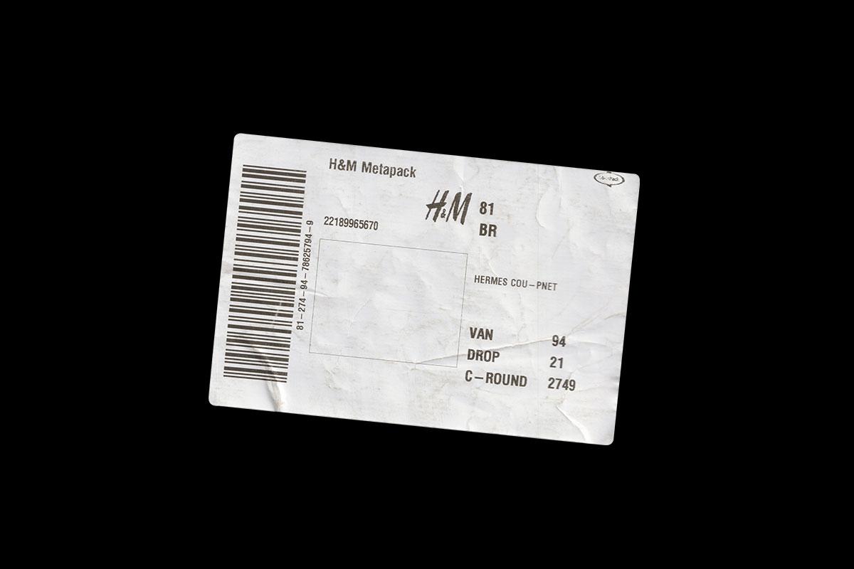 [淘宝购买] 42款复古做旧褶皱撕裂邮件快递不干胶标签贴纸PNG免抠图片素材 Care Package插图(6)