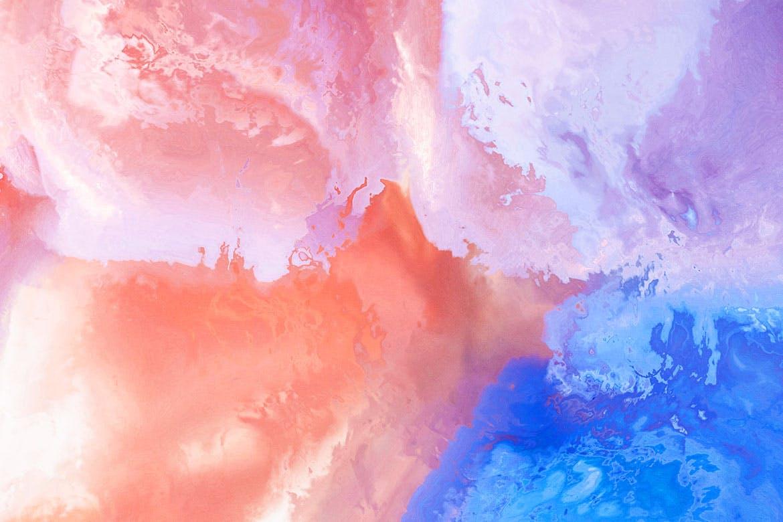 10款高清抽象迷幻水墨背景图片素材 Acid Ink Textures插图(9)