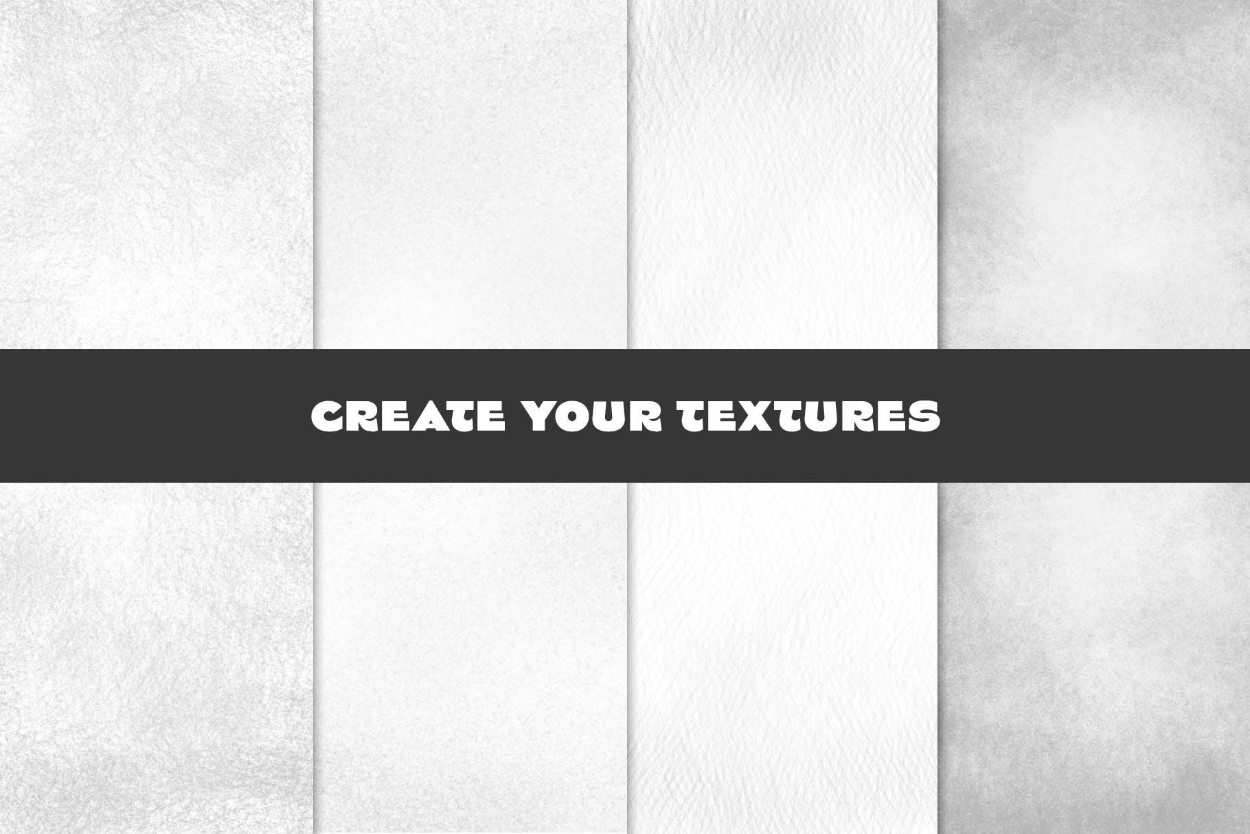 25款专业铅笔素描草图绘画PS笔刷素材套装 Pencil Photoshop Brushes插图(8)