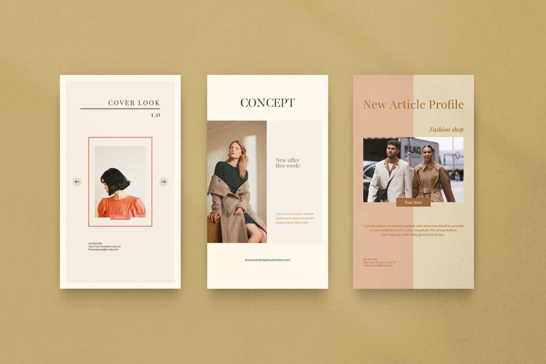 现代时尚服装品牌摄影推广新媒体电商海报模板 Soffie – Fashion Brand Social Media插图(10)