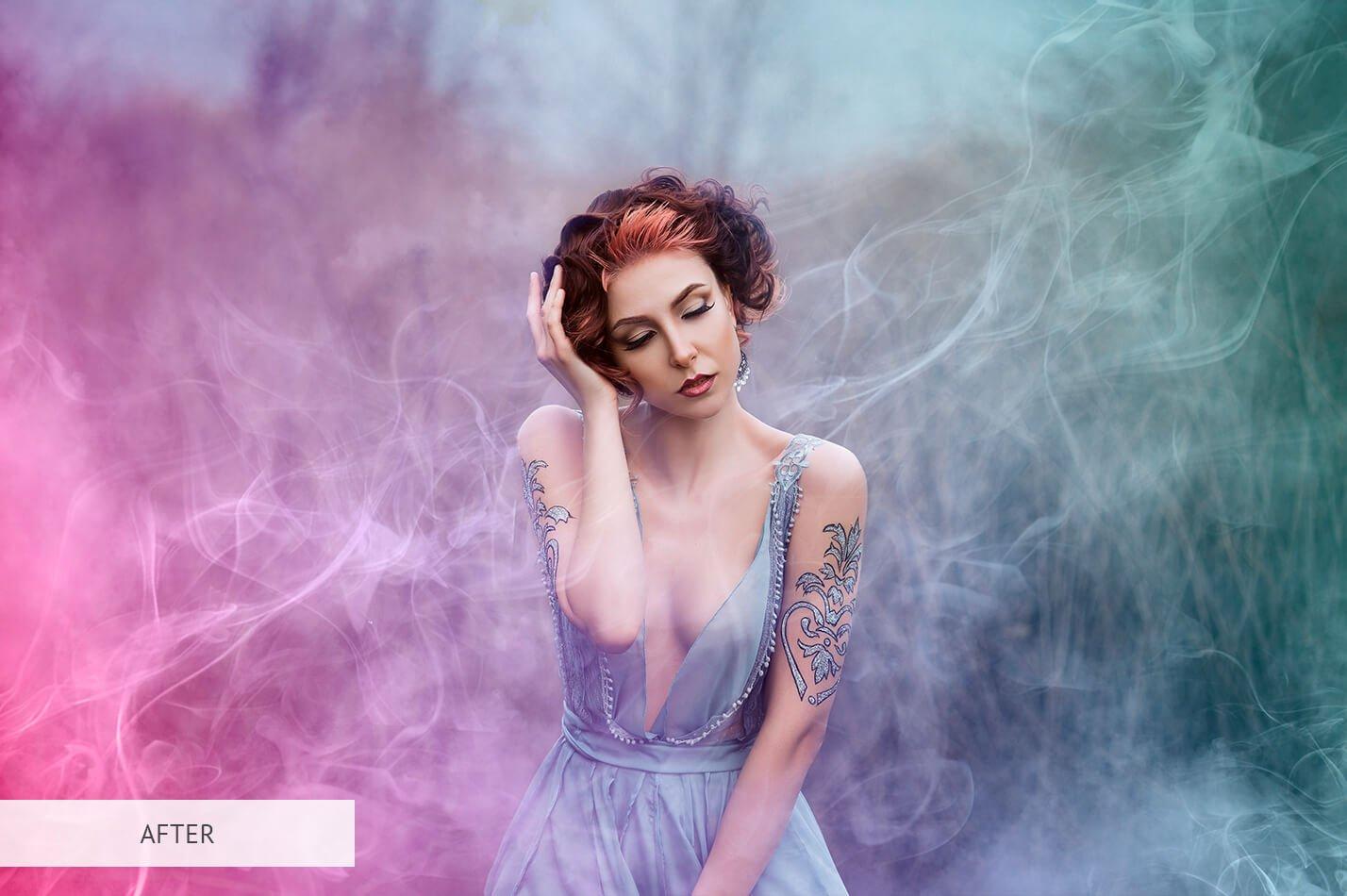 20款高清烟雾雾气效果PS叠加层PNG免抠图片素材 Smoke Overlays Photoshop插图(24)