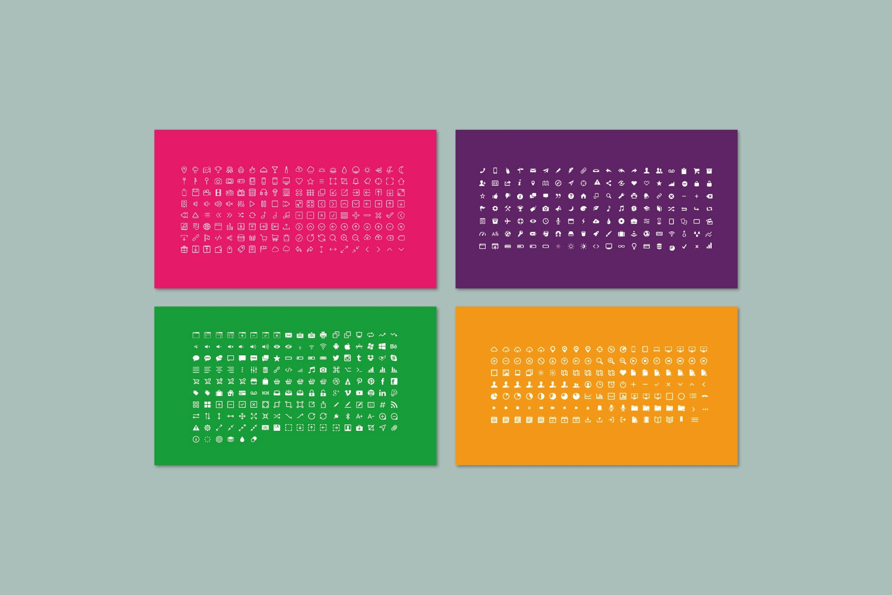 时尚多彩策划案图文排版设计演示文稿模板 Misya – Powerpoint Template插图(10)