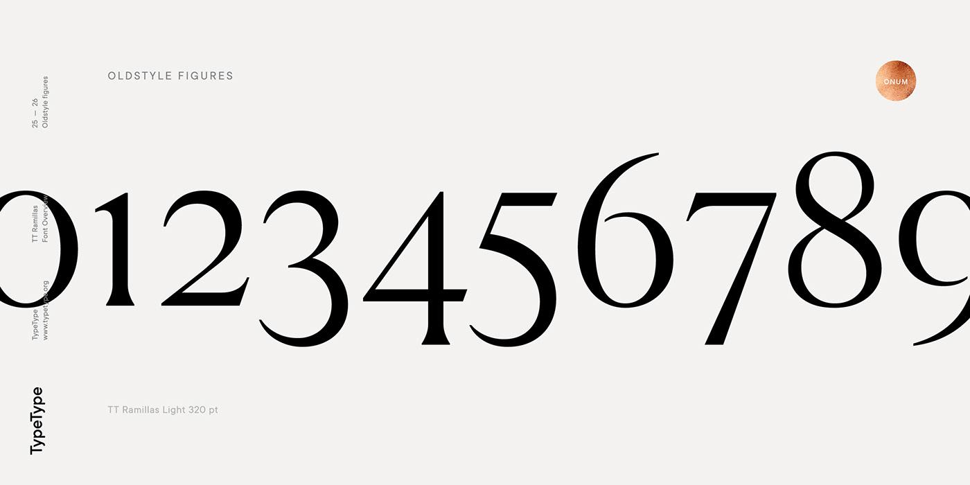 时尚海报标题文字设计衬线英文字体素材 Ramillas Typeface插图(22)