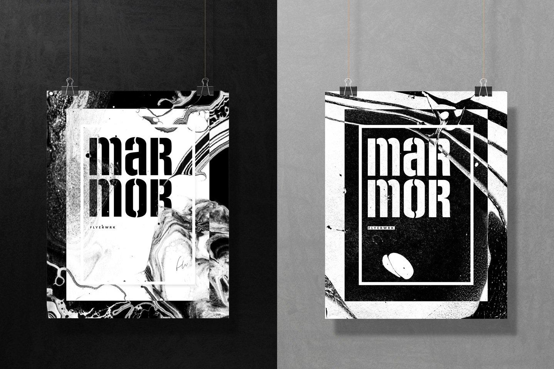50款高清抽象大理石液体海报设计底纹背景图片素材 Marmor – 50 Abstract Marble textures插图(2)