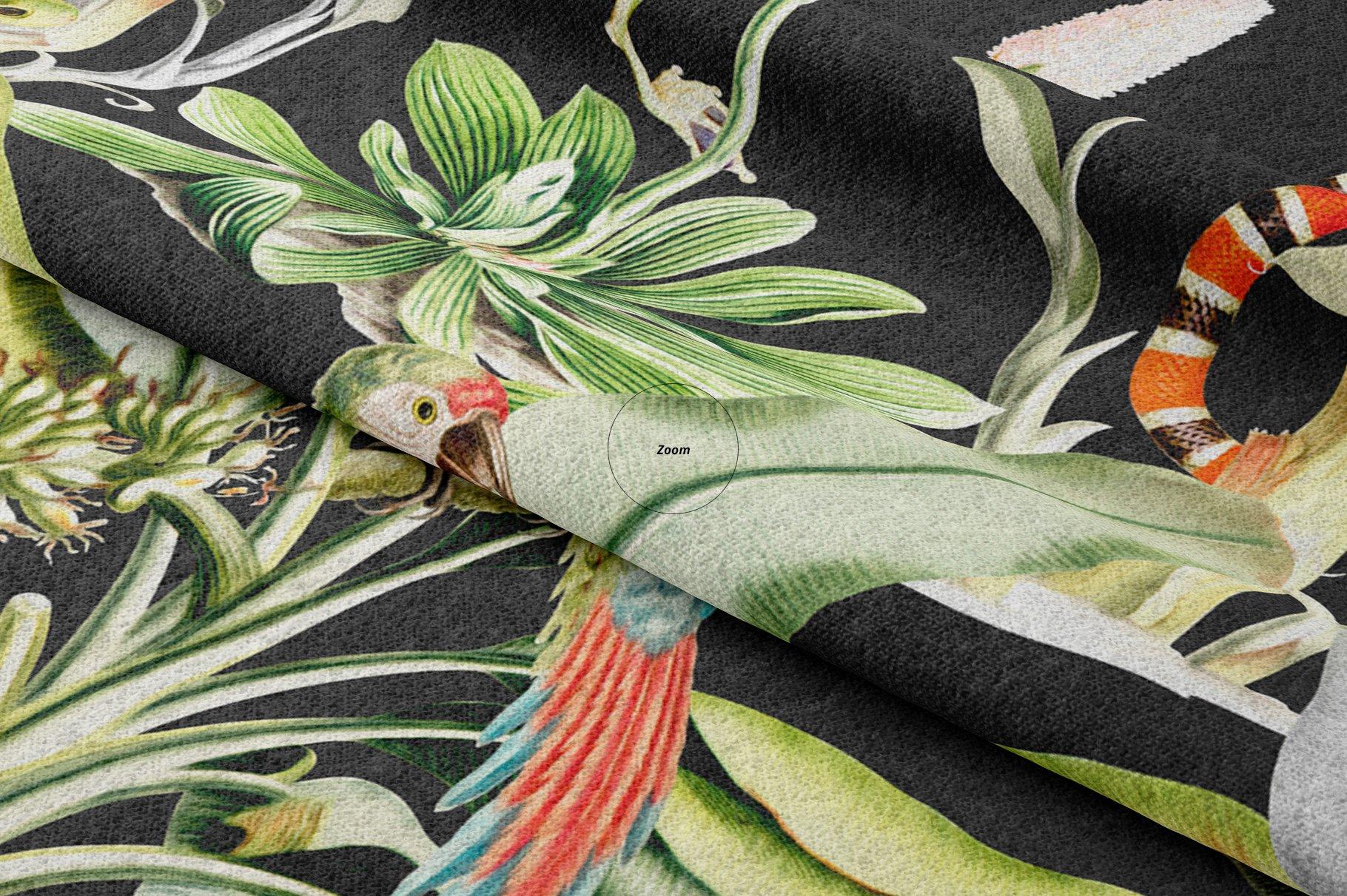 褶皱纺织面料印花图案设计展示样机模板 Lying Fabric Mockup 26/FF v.6插图(3)