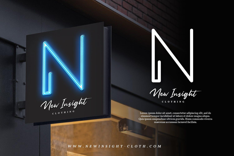 现代未来派手写英文字体素材 Neon Planet – Display Font Duo插图(3)