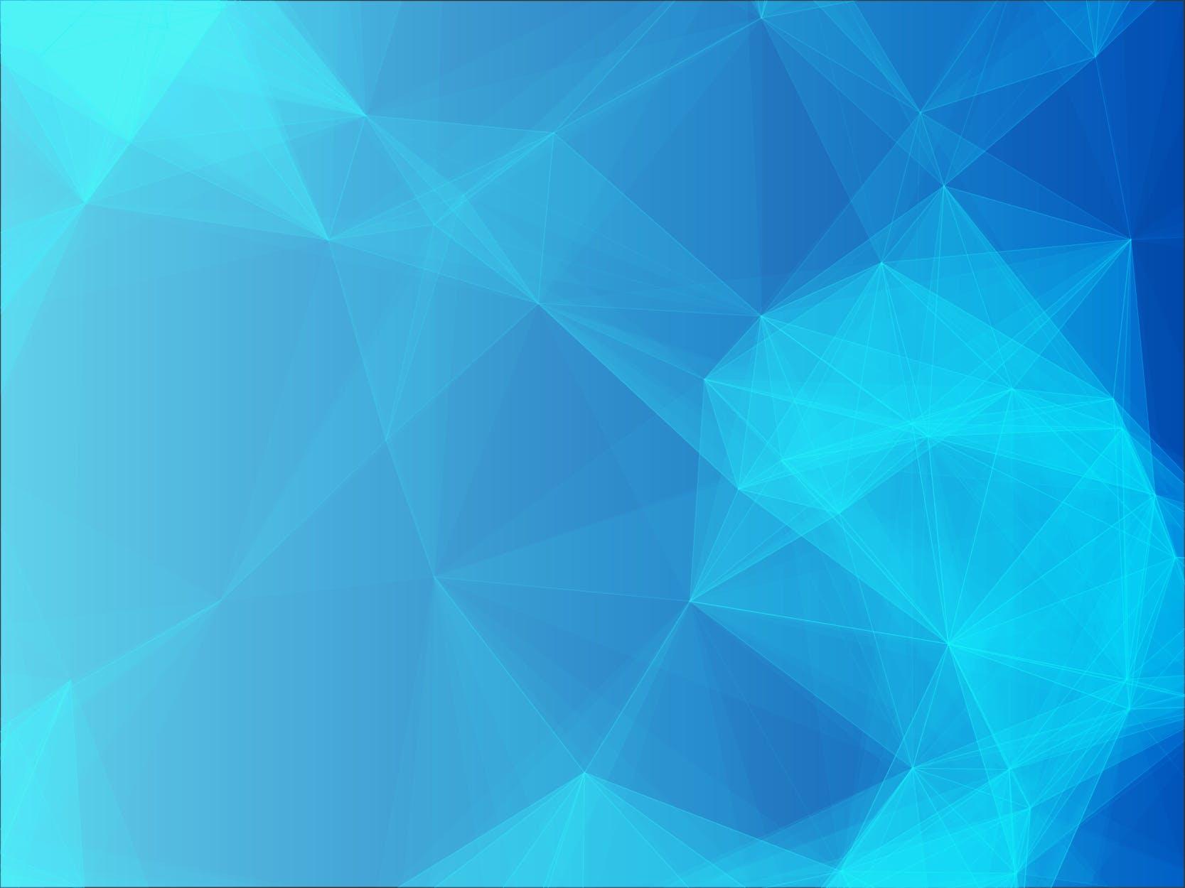 6款脑部融化效果几何图案矢量素材 Polygon Geometric Collection 3插图(3)