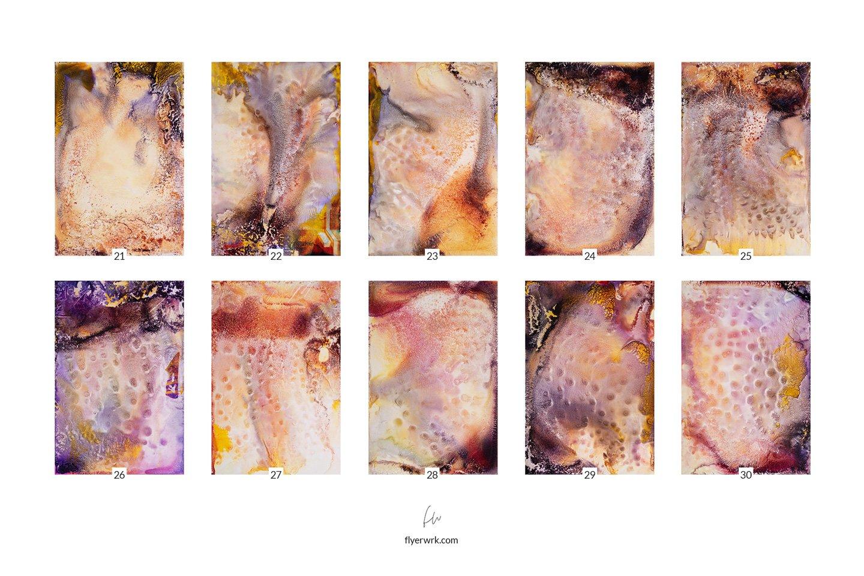 50款高清抽象流酸蚀海报设计纹理背景图片素材 Acid – 50 Abstract Textures插图(4)
