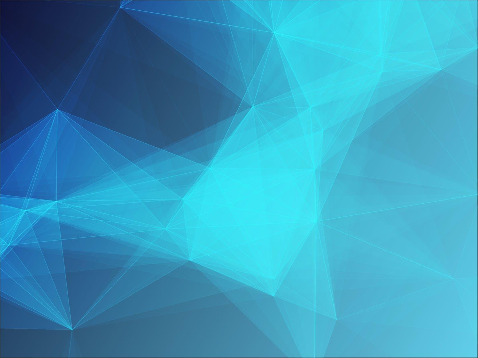 6款脑部融化效果几何图案矢量素材 Polygon Geometric Collection 3插图(4)