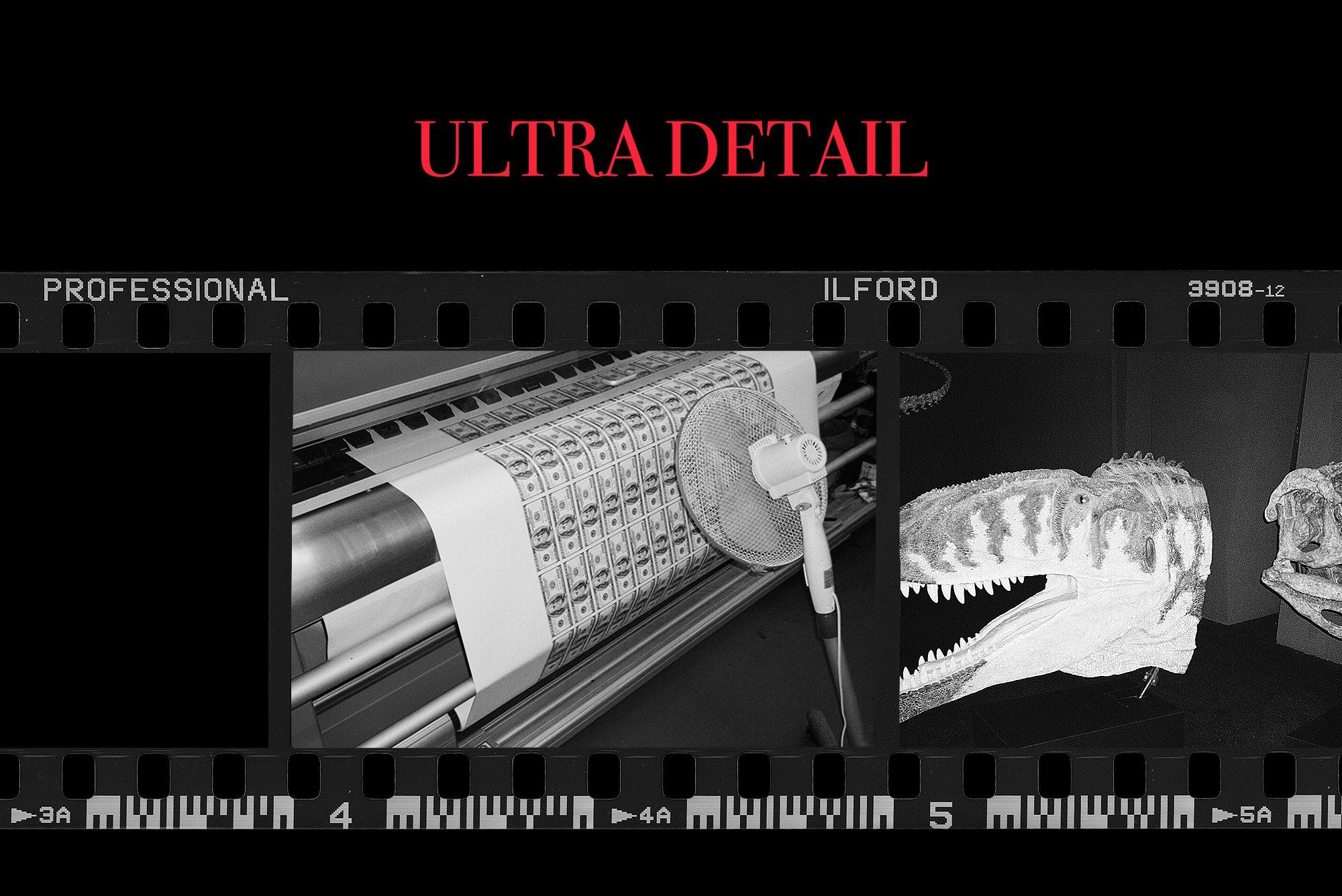[淘宝购买] 潮流老式胶片胶卷边框图层叠加样机PS设计素材 Contact Sheet Film Roll Mockup插图(4)