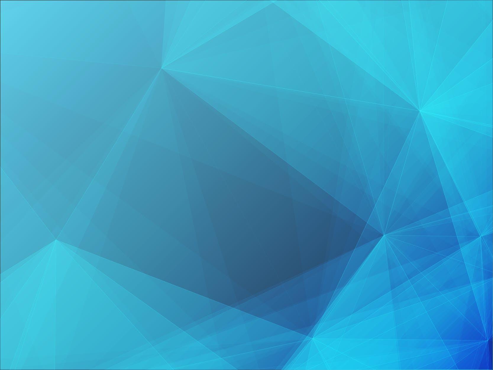 6款脑部融化效果几何图案矢量素材 Polygon Geometric Collection 3插图(5)