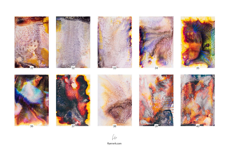 50款高清抽象流酸蚀海报设计纹理背景图片素材 Acid – 50 Abstract Textures插图(5)