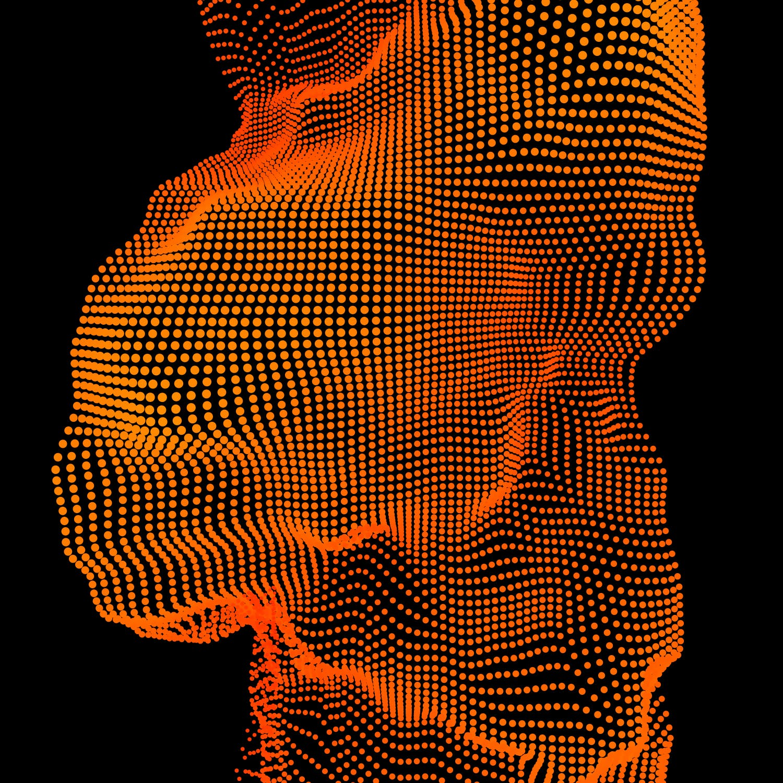 8款抽象圆点颗粒立体矢量图形素材 GEO NOISE1 Vector Pack插图(6)