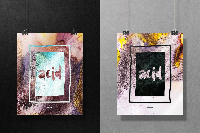50款高清抽象流酸蚀海报设计纹理背景图片素材 Acid – 50 Abstract Textures插图(6)
