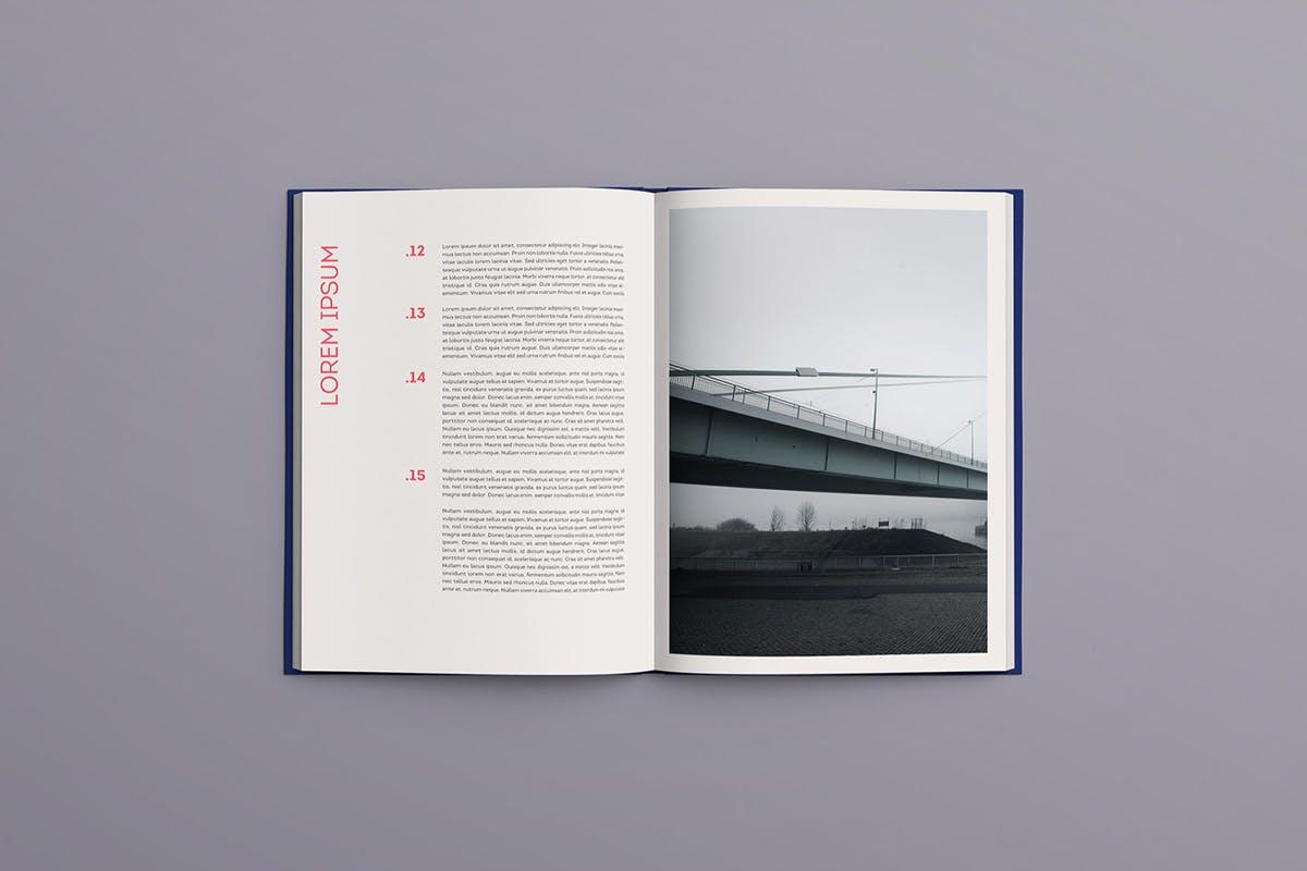 12款逼真封面烫金效果精装书画册设计展示智能贴图样机模板 Book Mockup插图(7)