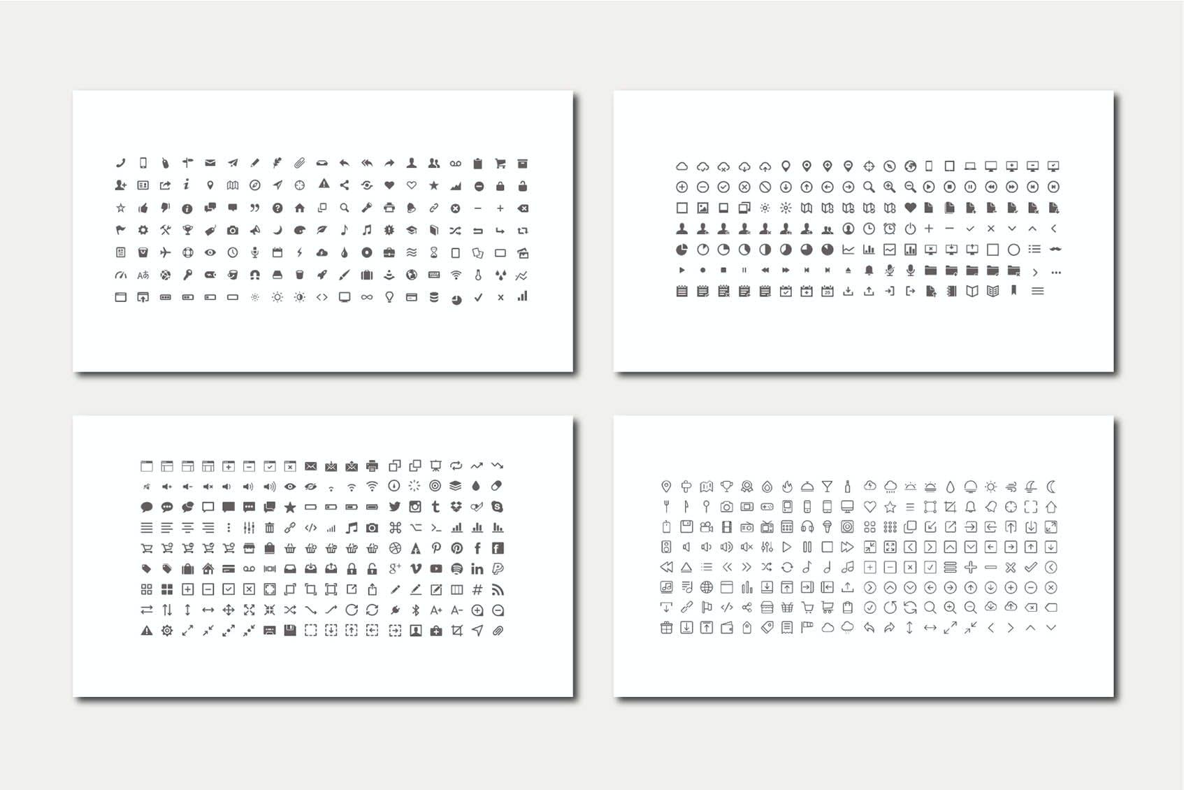 时尚简约摄影作品集图文排版设计演示文稿模板 Audrey – Powerpoint Template插图(7)