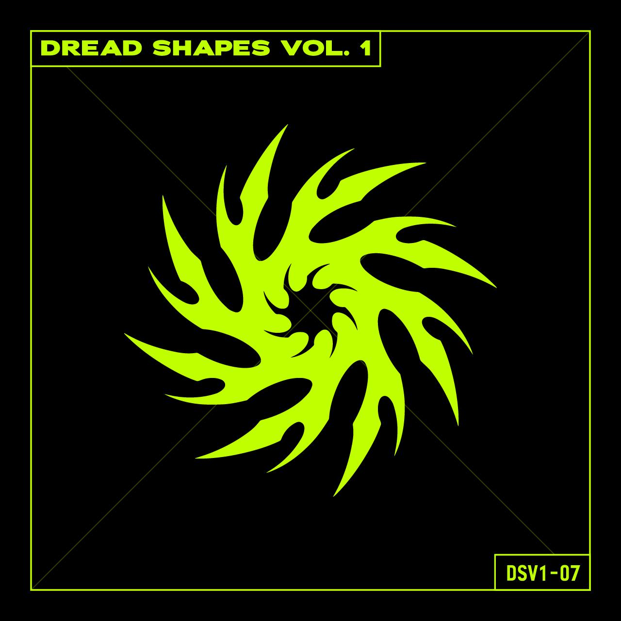 20款潮流抽象曼荼罗图标矢量图形AI素材 Dread Shapes Vol. 1插图1