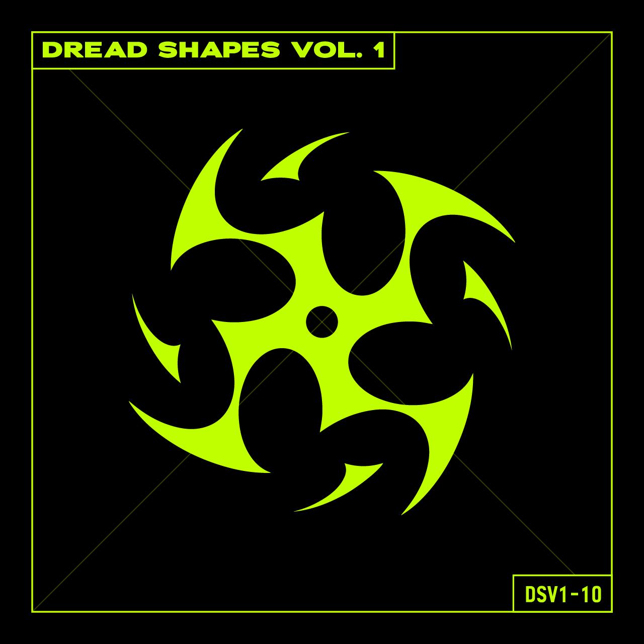 20款潮流抽象曼荼罗图标矢量图形AI素材 Dread Shapes Vol. 1插图2