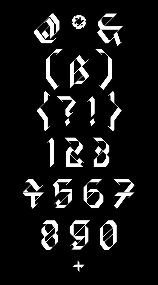 现代时尚标题徽标设计几何菱形装饰英文字体 David Rudnick – HyperZeit插图(5)