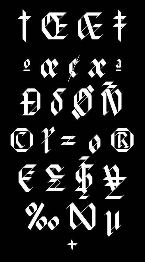 现代时尚标题徽标设计几何菱形装饰英文字体 David Rudnick – HyperZeit插图(6)