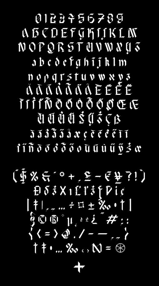 现代时尚标题徽标设计几何菱形装饰英文字体 David Rudnick – HyperZeit插图(9)