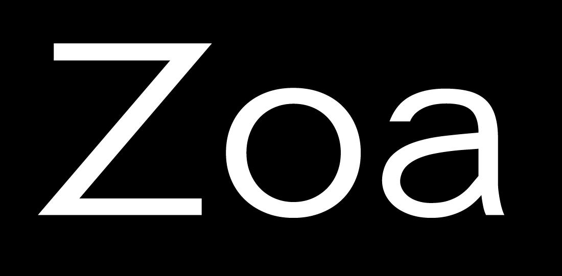 现代风格LOGO徽标设计无衬线英文字体下载 David Rudnick – Zoa Wassenaar插图