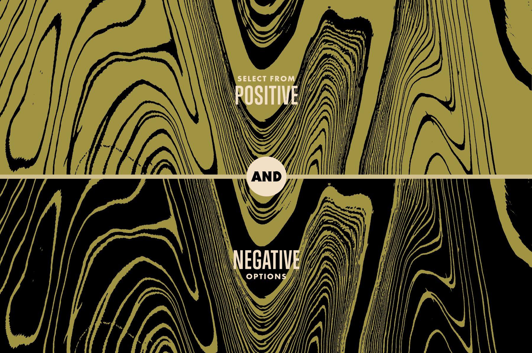 16款酸色调扭曲故障复制纹理平面广告设计背景矢量素材 Acid Tone Warped Copy Textures插图(4)