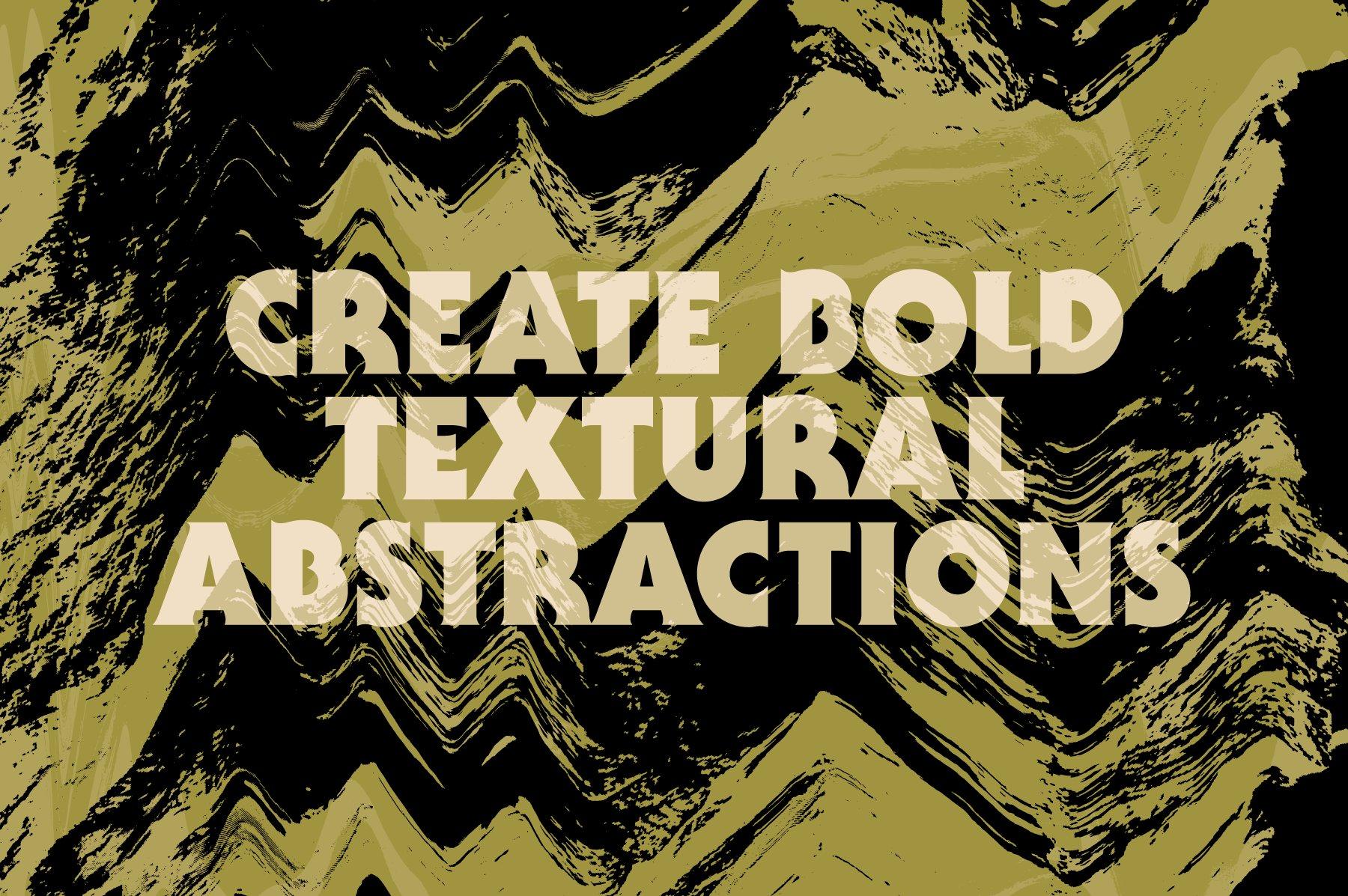 16款酸色调扭曲故障复制纹理平面广告设计背景矢量素材 Acid Tone Warped Copy Textures插图(5)