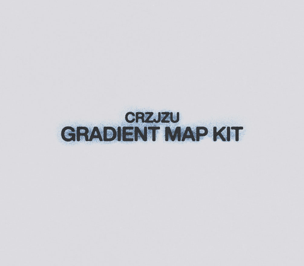 [淘宝购买] 37款潮流复古粗砂图案渐变贴图PS图层叠加设计素材 Gradient Map Kit 001插图