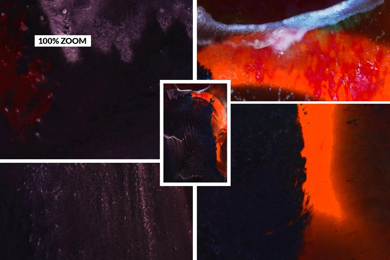 [淘宝购买] 32款潮流高清炫酷丙烯酸背景纹理图片设计素材 Grunge – 32 Experimental Backgrounds插图(1)