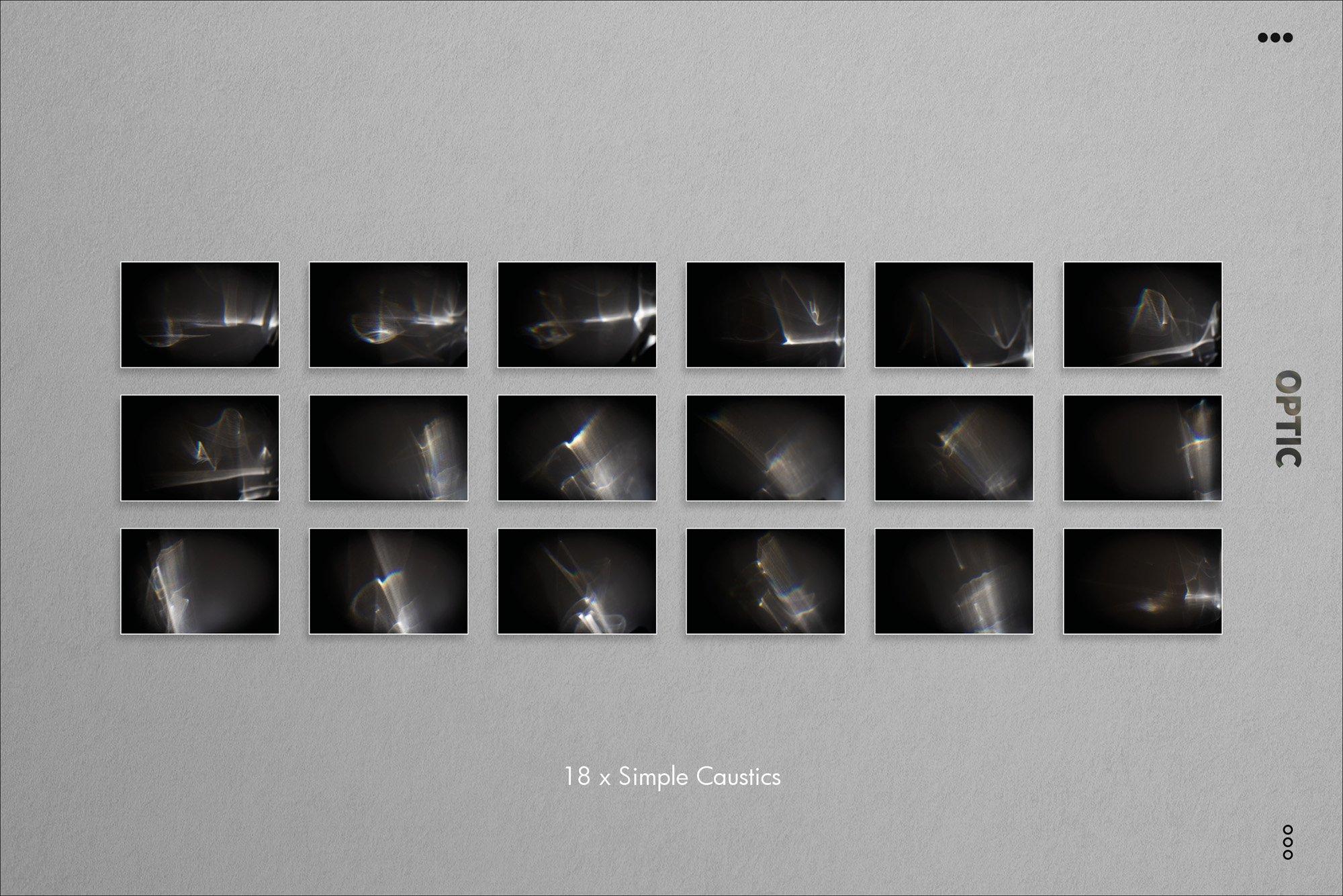 70种高清光谱棱镜反射漏光PS叠加层图片素材 OPTIC Prism & Rainbow Light Leaks插图(2)